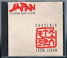 JAPAN featuring DAVID SYLVIAN A SOUVENIR FROM JAPAN CD HANSA