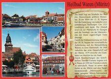 Ansichtskarte, Chronikkarte Heilbad Waren (Müritz)