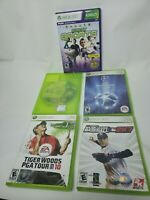 Microsoft Xbox 360 Sports Video Game Bundle - Lot of 5 (MLB, PGA, Soccer, Etc)