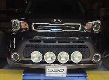 FITS ALL 2015 Kia Soul; SSD RALLY LIGHT BAR,Bull Bar, 4 Light Mounting Tabs