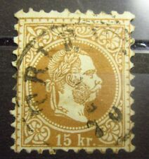 AUSTRIA Old stamp - ITALY TRIEST CANCEL - Used - VF - r47e5419