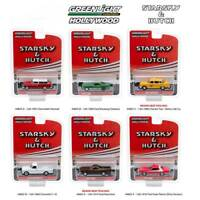 Greenlight Hollywood Series: Set of 6 - Starsky & Hutch Special Ed. 1/64 Scale