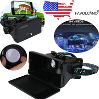 For iPhone Samsung S7 VR Virtual Reality Headset 3D IMAX Video Glasses Cardboard