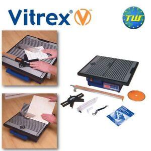 Vitrex 103421 Wet Tile Saw 750W 110V Porcelain & Ceramic Cutter Diamond Blade