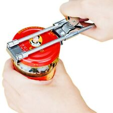Stainless Steel Can Bottle Jar Lid Opener Adjustable Kitchen Can Opening Tool
