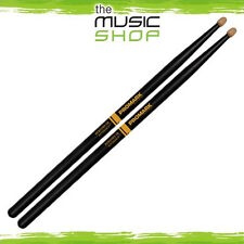 Set Promark Rebound Balance 5B Active Grip Hickory Drumsticks with Wood Tips