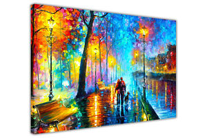 AT54378D Melody Of The Night By Leonid Afremov Canvas Prints Framed Pictures