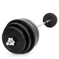Kinetic Langhantel 60kg Set Hantel Scheiben Langhantelstange Hanteln Gewichte