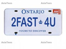 Realistic Ontario Plate (2FAST4U) For RC Cars GPM Racing
