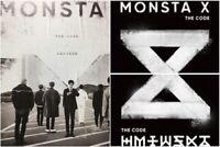 MONSTA X: The Code 5th Mini Album * CD+Full Package+Poster (Star Ship) K-POP