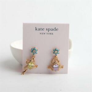 Kate Spade New York Nature Walk Frog Stud Earrings