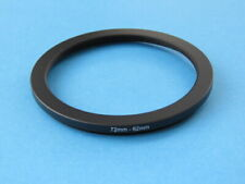 72mm to 62mm Stepping Step Down Ring Camera Lens Filter Adapter Ring 72-62mm