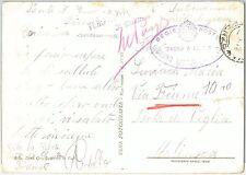 57912 -  ITALY - POSTAL HISTORY: CARD from the BAGNO di RIVOLI camp 1944 JUDAICA