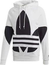 Adidas Originals Hombre Grande Trébol Sudadera con Capucha FM9909 Sudadera