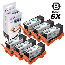 LD Compatible Lexmark 100XL / 100 14N1068 6pk High Yield Black Inkjet Cartridges