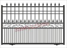 DRIVEWAY GATES /METAL GATES / COMPOSITE WOOD GATE/ SLIDING GATE/BI FOLDING GATE/