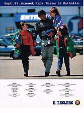 PUBLICITE ADVERTISING 074  1988  MAGASINS LECLERC