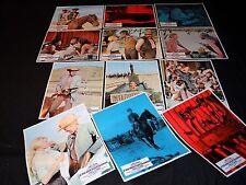 L' OR DES PISTOLEROS james coburn  jeu 12 photos cinema western 1967
