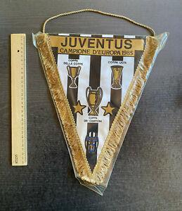 Wimpel Juventus Turin - Campione D'Europa 1985 - Europapokalsieger 1984/85