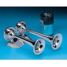 AFI 10108 Dual Trumpet Mini Air Horn Kit W/ Compressor