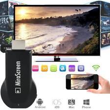 Black MiraScreen WiFi Display Receiver Miracast TV Dongle HDMI DLNA Airplay HD