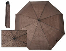 Guess Umbrella G Logo Pattern Matching Cover Authentic Designer Brown