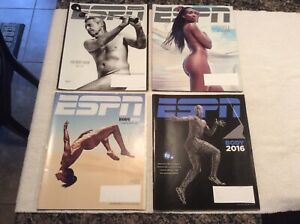 ESPN BODY ISSUES 2013-16. Superstar Athletes in the Natural Way. Serena +