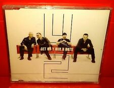 CD U2 - GET ON YOUR BOOTS - 2 TRACKS + Video - NUOVO - NEW - SINGLE