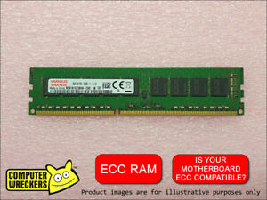8GB (1x 8GB STICK) PC3-12800E 1600MHz ECC DDR3 SERVER WORKSTATION MEMORY RAM