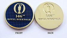 2017 - 146th BRITISH OPEN ROYAL BIRKDALE, BLUE/SILVER Ball Marker -  SPEITH WINS