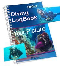 Personalized Scuba Diving Log Book Custom Made Logbook Divers Gift Divers PADI
