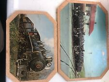 East Broad Top Railroad Vintage Collectible Photo Coasters