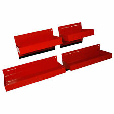 c8d588a1f6 4pc Magnetic Toolbox Tray Set Cabinet Parts Side Shelf Storage Garage Tool  Box