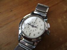 Vintage unisex TIMOR TIME GUIDE Brail watch, running well