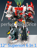 Transformers Superion IDW 6 In 1 Action Figure G1 KO New Kids Toys in Stock 12""