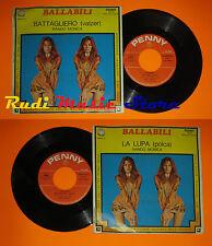 LP 45 7'' NANDO MONICA La lupa Battagliero 1976 italy PENNY 02224 (*) cd mc dvd