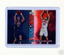 RARE 2000 TOPPS USA VIN BAKER / NATALIE WILLIAMS REFRACTOR #SS5 NBA WNBA