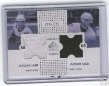 2002/03 Jaromir Jagr SP Game Used Authentic 2 Jerseys