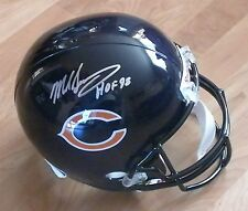 MIKE SINGLETARY 'CHICAGO BEARS HOF 98' SIGNED FULL SIZE HELMET *COA