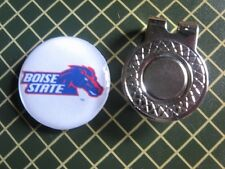 GOLF / Boise State Broncos Golf Ball Marker /with Magnet Hat Clip New!!