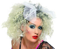 Perruque Blonde MADONNA Déguisement Adulte Femme Disco Année 1980 NEUF Pas cher