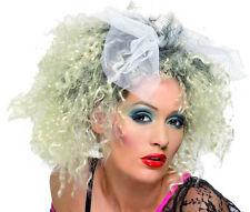 Perruque Blonde MADONNA Déguisement Adulte Femme Costume Disco Année 1980