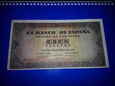 BILLETE DE 100 PESETAS DE BURGOS, AÑO 1938