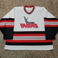 Vintage CCM Kansas City Blades IHL Maska Jersey KC Missouri Hockey Size XL
