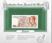 World Banknotes Belgium 1966 50 Francs P-139a.3 UNC 1174 G Signature: Kestens