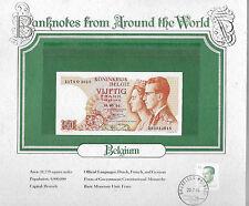 World Banknotes Belgium 1966 50 Francs P139a.3 GEM UNC 1174 G Signature: Kestens
