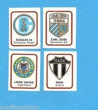 FIGURINA PANINI 1972/73-n.567- CARL ZEISS+SCHALKE 04+PAOK+LEEDS UTD-Rec