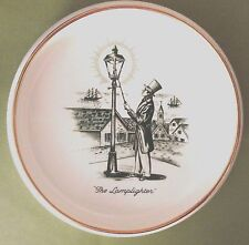 "Vintage Advertising Ashtray ""The Lamplighter"", Porcelain Tobacciana"