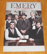Emery The Question Poster 2-Sided Promo 2005 Original 12x18