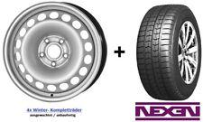 4x Winterräder VW T5 / VW T6 16 ZOLL Felgen 205/65 R16 C NEXEN Reifen *NEU*